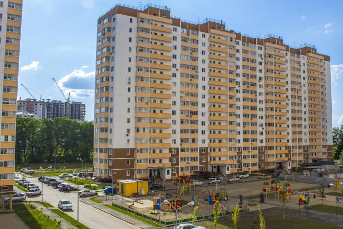 Многоквартирный жилой дом по адресу ул. им. Героя Яцкова И.В., д. 16