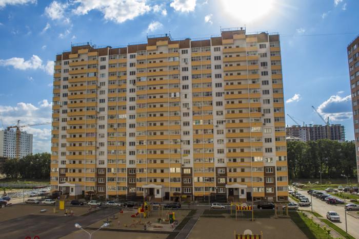 Многоквартирный жилой дом по адресу ул. Черкасская, д. 129