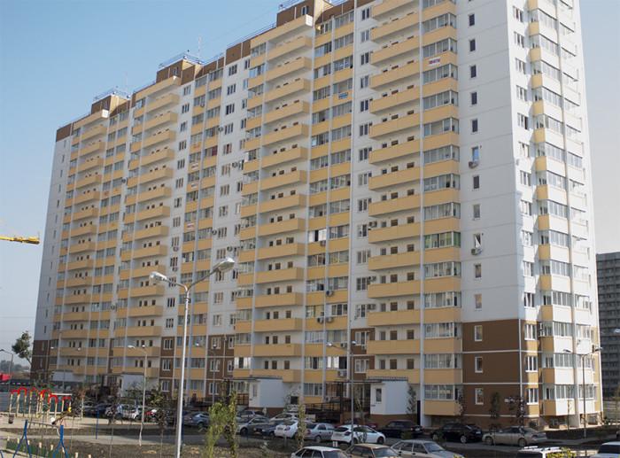 Многоквартирный жилой дом по адресу ул. им. Героя Яцкова И.В., д. 20